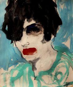 Art And Illustration, Figurative Kunst, Plakat Design, Mexico Art, Abstract Faces, Portrait Art, Figure Painting, Painting Inspiration, Female Art