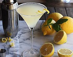The Perfect Lemon Drop Martini: 2 ounces vodka, 1/2 ounce Triple Sec, 1 ounce simple syrup, 1 ounce freshly squeezed lemon juice