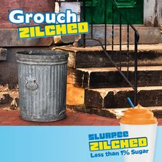Slurpee Zilched! With less than 1% Sugar.