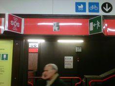 Sticker @ Metro Milan Project #01