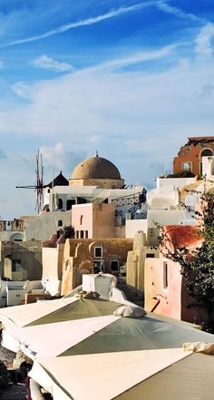 Old neighbourhood, Oia, Santorini