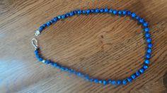 blue stones necklace. $15