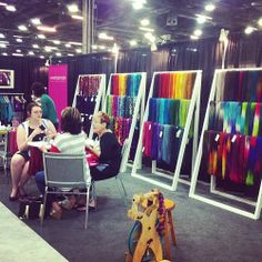 Day 2 of #TNNA! Come visit us and all the pretty yarns in booth 154! @tnnaorg