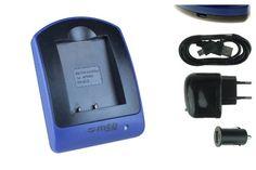 Ladegerät (USB, KFZ, Netz) für Nikon EN-EL8 / Coolpix P1, P2, S1, S2, S7, S7C, S8, S9, S50c, S51... - http://kameras-kaufen.de/mtb-more-energy/ladegeraet-usb-kfz-netz-fuer-nikon-en-el8-coolpix