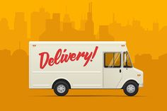 Online food ordering has become the newest trend after nations declared national emergencies due to the coronavirus pandemic. We deliver your food fast, fresh and still warm for you to enjoy. #mediterraneandietrecipes Car Delivery, Body Shop At Home, Restaurant Menu Design, Order Food Online, Live Wallpaper Iphone, Car Illustration, Truck Design, Trucks, Vector Design