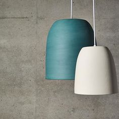Poured in the same way as our dinnerware, our lights provide a modern touch to…