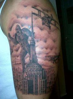 41 Best King Kong Tattoos Images In 2017 King Kong Pop Culture