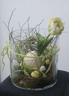 Schöne Ideen für den Geist von Ostern und Frühling ins Haus Dekor (39)