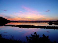 A Ibiza Sunset over Salinas....