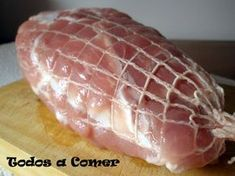 Receta De Redondo De Cerdo Asado Al Horno Cerdo Asado Comidas Con Cerdo Cerdo