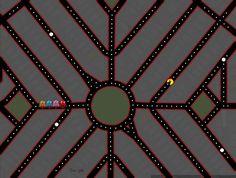 Playing Ms. Pac-Man on Google Maps: Ladd's Addition, Portland