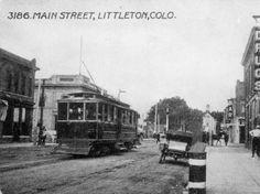 Main Street, Littleton, 1910-15. :: Western History