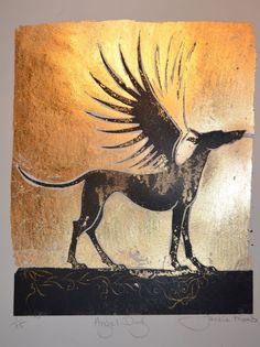 Angel dog by Jackie Morris