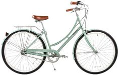 Special Offers - Pure City Dutch Step-Through City Bicycle 8-Speed / 45cm Crosby Sea Foam Green/White - In stock & Free Shipping. You can save more money! Check It (July 26 2016 at 01:03AM) >> http://cruiserbikeswm.net/pure-city-dutch-step-through-city-bicycle-8-speed-45cm-crosby-sea-foam-greenwhite/
