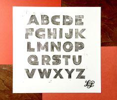 Linocut #1