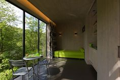 cabane contemporaine Windows, Tiny Cottages, Recherche Google, Home, Travel, Cozy Cabin, White Cedar, Cabins, Contemporary