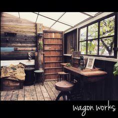 小屋DIY /男前インテリア/DIY/リノベーション/wagonworks/RC愛知…などのインテリア実例 - 2015-10-17 21:43:43   RoomClip(ルームクリップ)