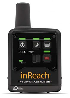 DeLORME inReach Two-way GPS Communicator