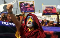 How is Tibet crushed by the Chinese government and its dictatorship?