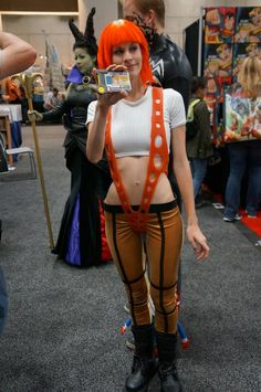 Hiya, Lilu! #SDCC #FifthElement #cosplay