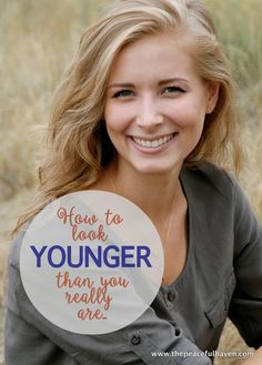 How to age gracefully and actually look younger than you really are...Yahoo!