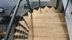 Escalera helicoidal  taller de herreria  ramirez arquitectos