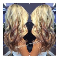 Ombre hair: the most beautiful color gradients and if we dared ombre hair? Different Blond, Hair Color And Cut, Hair Affair, Strawberry Blonde, Great Hair, Hair Highlights, Fall Hair, Gorgeous Hair, Hair Dos