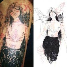 sketch>tattoo art