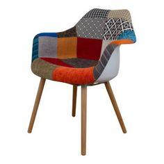 Eetkamerstoelen : Patchwork chair