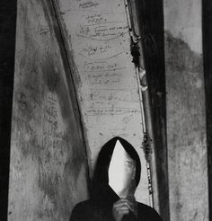 Ralph Eugene Meatyard, Figure with Glas, 1966