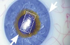 Scientists create flexible, transparent circuit that can lay on top a contact lens