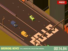 Pako - Car Chase Simulator  https://itunes.apple.com/app/pako-car-chase-simulator/id903183877?mt=8