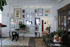 Picture Wall In Artilleriet Studio In Gothenburg - Gravity Home