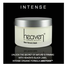 Heaven Black Label Bee Venom Mask http://qbeautywellness.com/index.php/heaven/heaven-black-label-bee-venom-mask-50ml.html