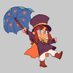 someone requested the kid from a hat in time! they were fun to draw :D Time Tumblr, A Hat In Time, Flesh And Blood, Art Memes, Indie Games, Time Art, Pretty Art, Best Dad, Art Blog