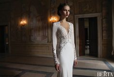 Wedding dress design for charming, tight-fitting dresses