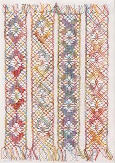 Blog de myriam-dentelle - Page 47 - Blog de myriam-dentelle - Skyrock.com Lace Jewelry, Jewellery, Bobbin Lacemaking, Lace Heart, Textile Patterns, Textiles, Lace Detail, Knit Crochet, Blog