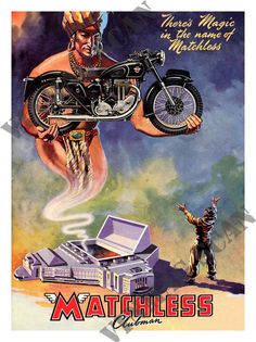 Motorcycle Ad - Matchless