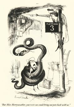 Returning to school after the holdays: St Trinian's - Ronald Searle
