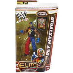 WWE Elite Series Rey Mysterio Action Figure