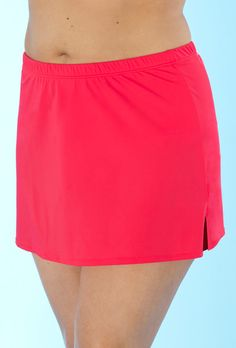 Try out the Sorbet Side Slit Skirt and more at Swimsuits for All! From stylish tankinis to classic bikinis, we've got what you're looking for. Plus Size Bikini Bottoms, Women's Plus Size Swimwear, Curvy Swimwear, Trendy Swimwear, One Piece Swimwear, Curvy Bikini, Swim Skirt, Swim Dress, Swimsuits For All