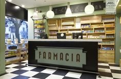 Farmacia Concept Store by Omid Ghannadi, Bucharest – Romania »OMG The light fixtures!!