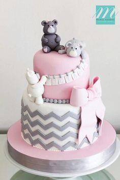 Baby Shower Cake bears