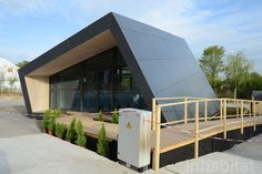 Denmark's Team DTU designed the FOLD House for the 2012 Solar Decathlon Europe and it features Thinfilm Solar Cells
