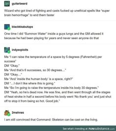 "Wizard who got tired of fighting and oasis fucked up unethical spells like ""super brain hemorrhage Tumblr Funny, Funny Memes, Hilarious, Writing Tips, Writing Prompts, Tenacious D, Dnd Stories, Dungeons And Dragons Memes, Dnd Funny"