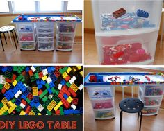DIY Lego Table | TheWHOot