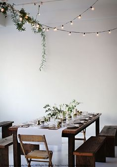 Dining inspiration, natural