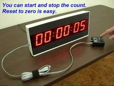 Our Model LED Large Display Digital Timer - Countdown Clock - Count Up Clock is Easy to Use! The Best Value in Digital Timers. Countdown Clock, Digital Timer, Digital Alarm Clock, Display, Led, Products, Billboard, Beauty Products