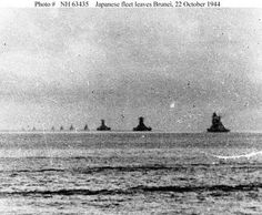 The Battle of Leyte Gulf was fought from October 1944 and was the largest naval battle of World War II. It may well be regarded as the largest naval