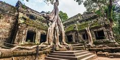 """""""Joining Lara Croft in her adventure in Angkor Wat, Cambodia. Siem Reap, Angkor Wat, The Tourist, Scotland Tourist Attractions, Cambodia Beaches, Cambodia Travel, Castles In Ireland, Vacation Packages, Travel Couple"""